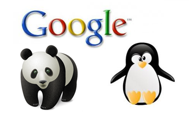 google panda penguin