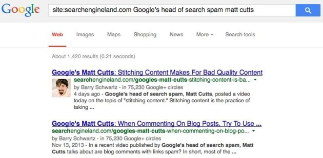 matt cutts head of google search spam