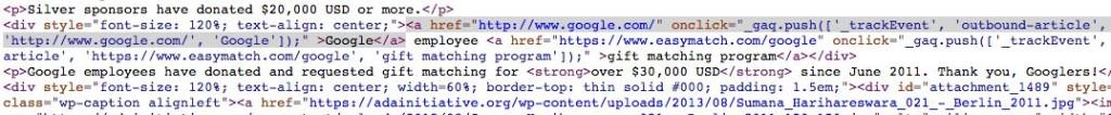 final paid link google